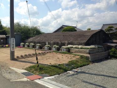 鶉野飛行場跡周辺の地下指令室