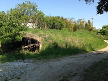 鶉野飛行場跡周辺の防空壕跡