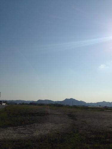 鶉野飛行場跡滑走路