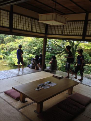 長崎 島原 鯉の泳ぐまち の 四明荘 内側