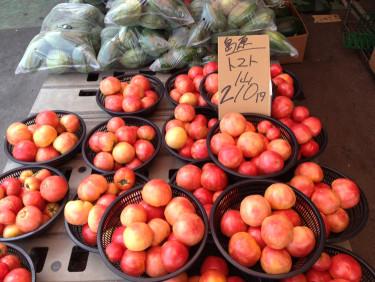 長崎 島原 トマトが安い