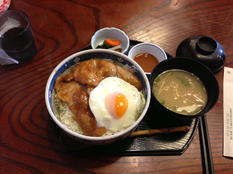 長崎 島原 仲よしのポーク丼