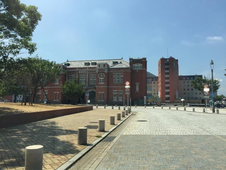 門司港の古いレンガ造りの建物 北九州