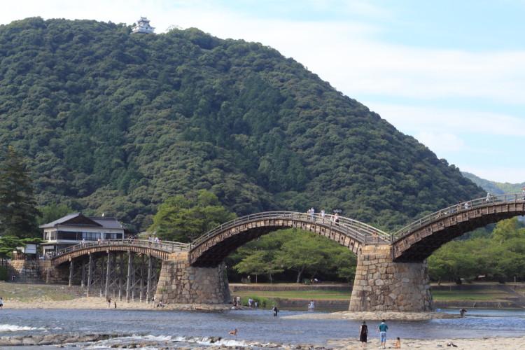 山口 岩国の錦帯橋