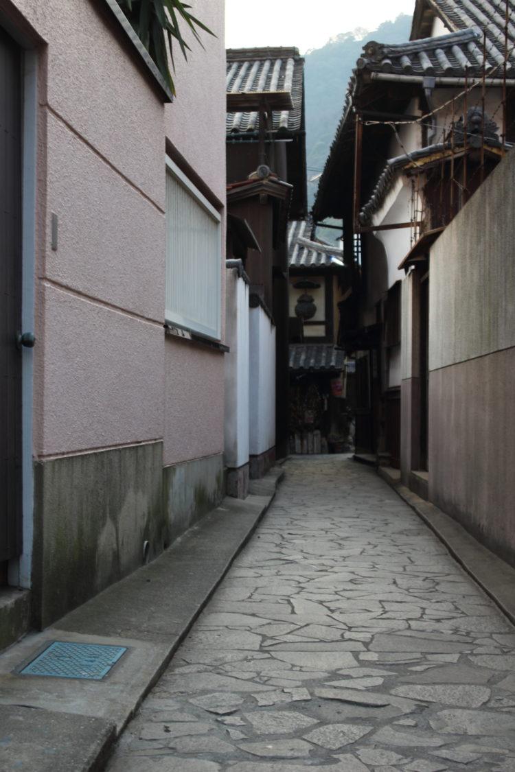 福山 鞆の浦 流星ワゴンのロケ地 路地裏