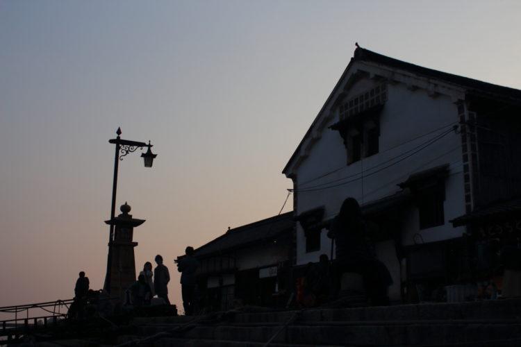 福山 鞆の浦 流星ワゴンのロケ地 常夜灯広場