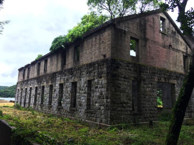 川棚 海軍魚雷発射試験場跡 建物