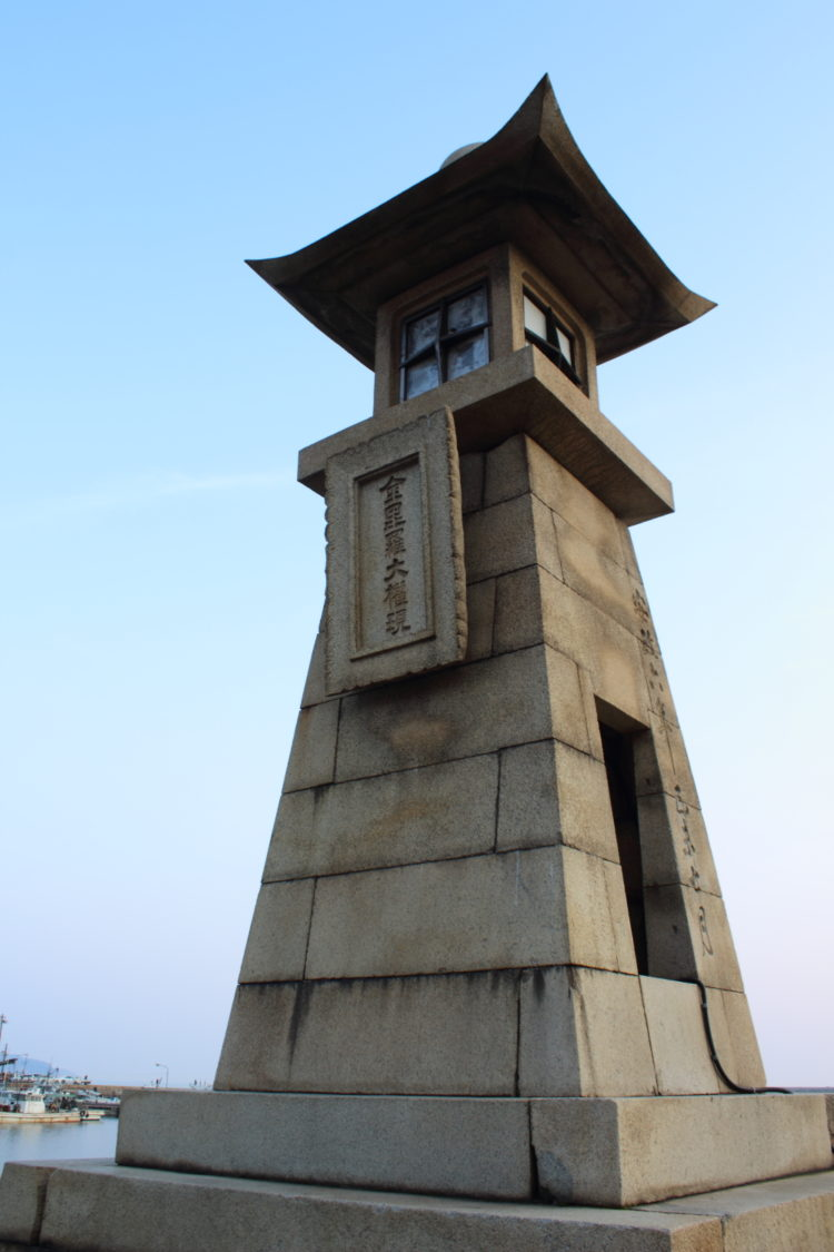 福山 鞆の浦 流星ワゴンのロケ地 常夜灯