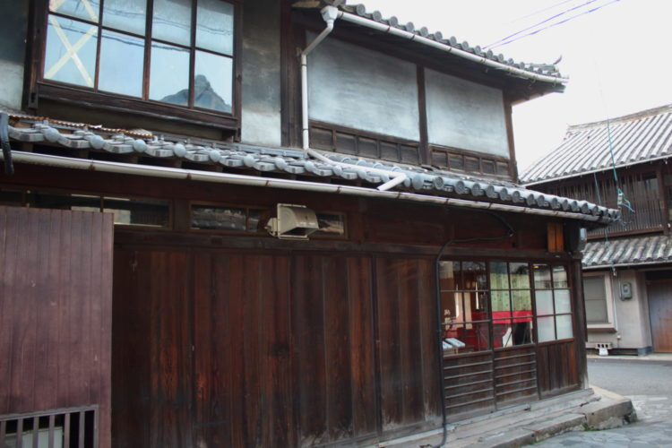 福山 鞆の浦 の古い町並み