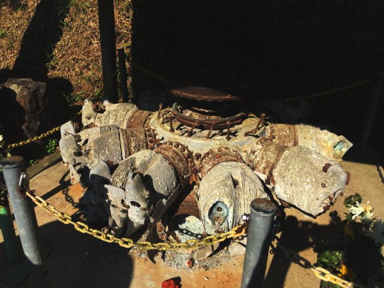 三ヶ根山 A18A ハ104 複列18気筒 飛龍のエンジン