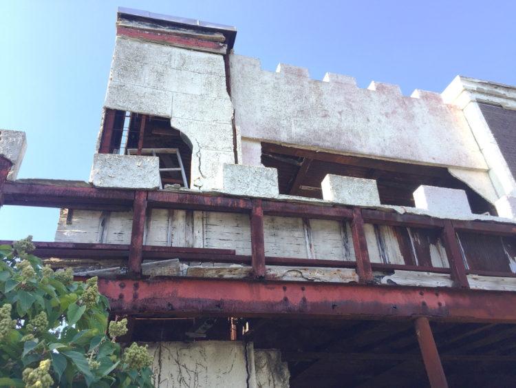 蒲郡 三ヶ根山 廃墟 三ヶ根茶屋