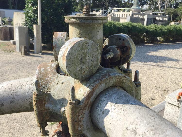 蒲郡の三ヶ根山にあるフィリピン観音霊場 比島観音霊場 以前は零戦のエンジンといわれてた 瑞星発動機 住友のハミルトンペラ