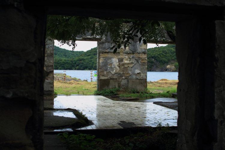 川棚 片島魚雷発射試験場跡 建物内部