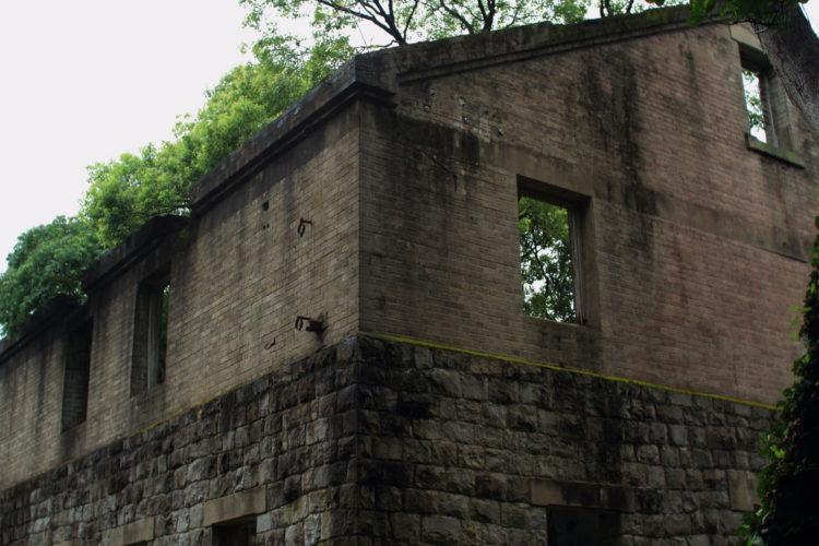 川棚 片島魚雷発射試験場跡 建物背面