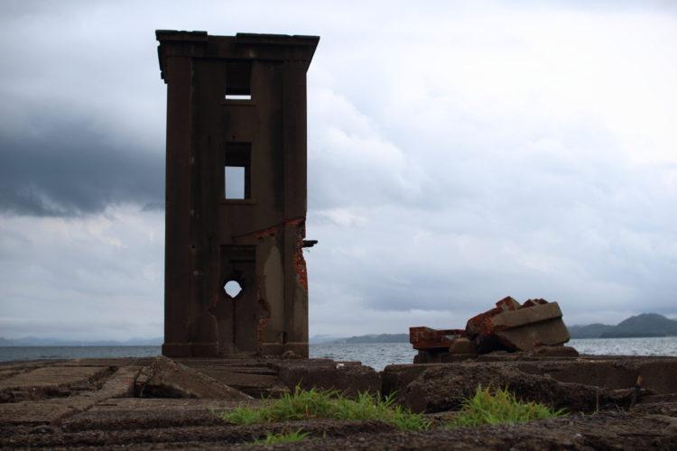川棚 片島魚雷発射試験場跡 観測所跡