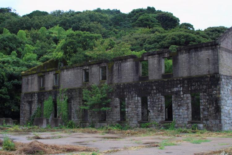 川棚 片島魚雷発射試験場跡 建物全体