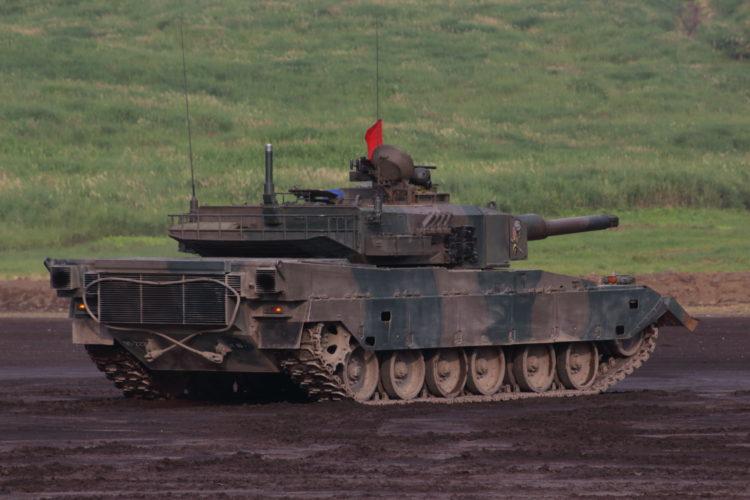 90式戦車 2017総合火力演習