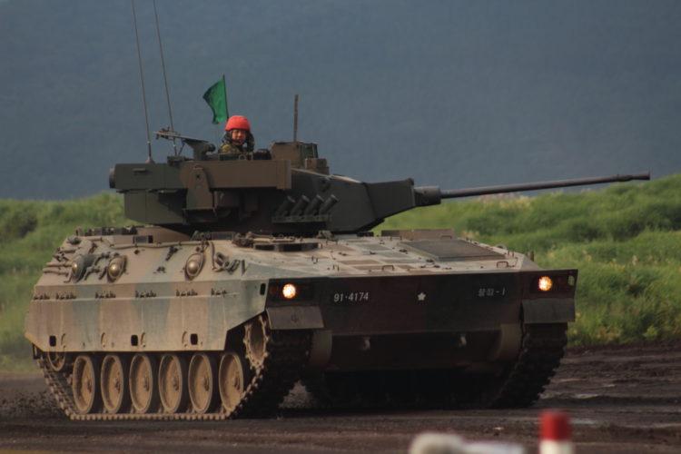 89式装甲戦闘車 ライトタイガー でも部隊内ではFV 陸自 装備