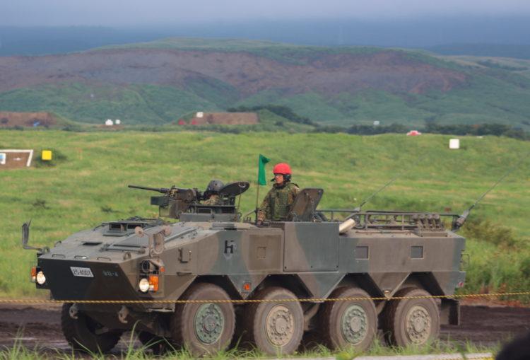 96式装輪装甲車 クーガー