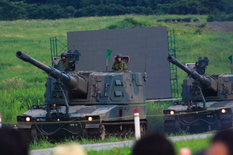 99式自走155mmりゅう弾砲 ロングノーズ