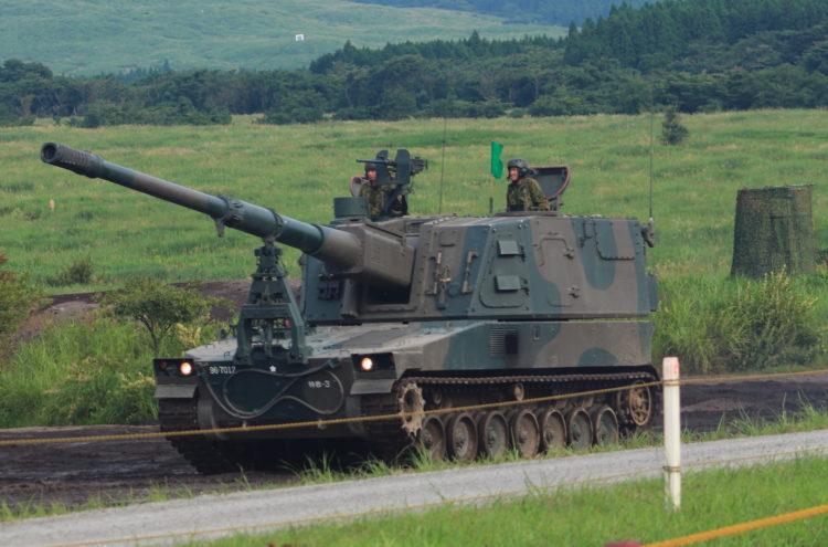9式自走155mmりゅう弾砲 ロングノーズ