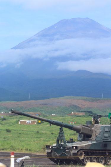 99式自走155mmりゅう弾砲 ロングノーズ 富士総合火力演習