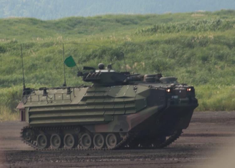 水陸両用車(AAV)新装備