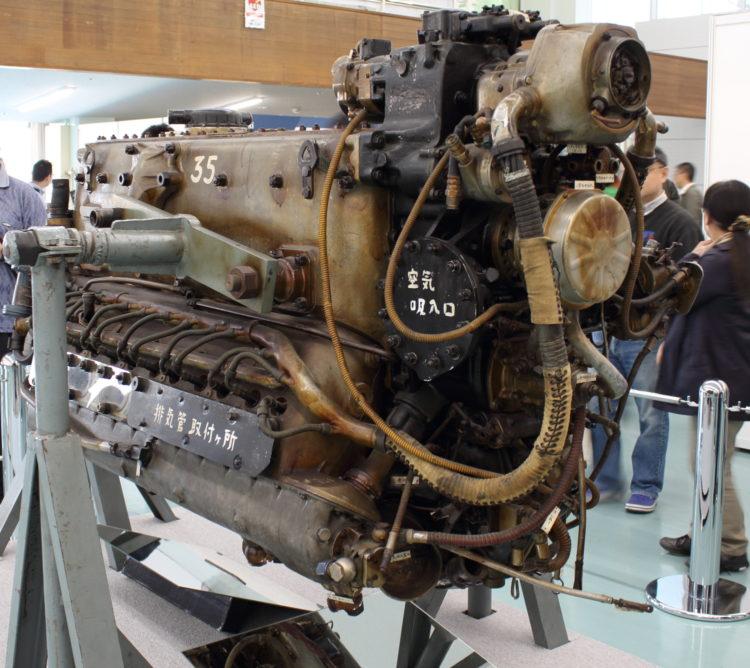三式戦飛燕の発動機 ハ140