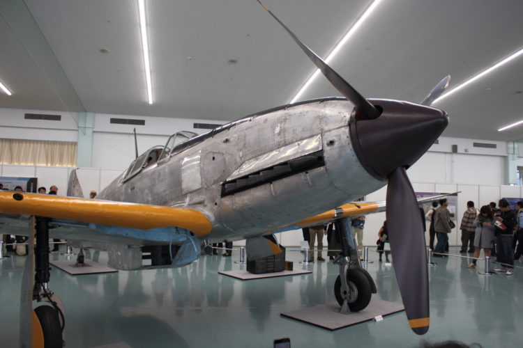 飛燕2型試作17号機 プロペラ周り拡大