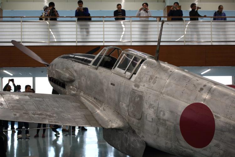 飛燕2型試作17号機 コクピット周り